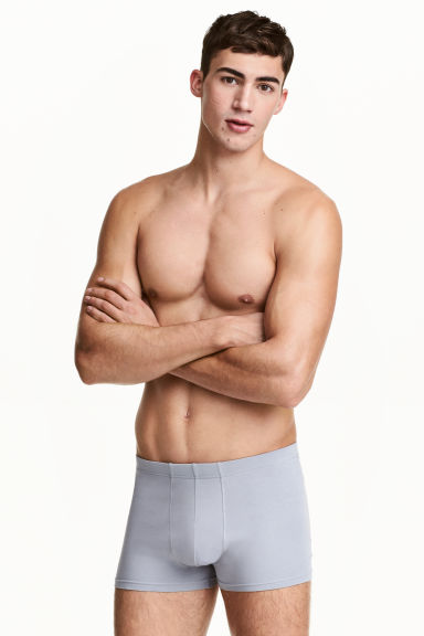 3-pack boxer shorts - Grey/Light grey - Men | H&M 1