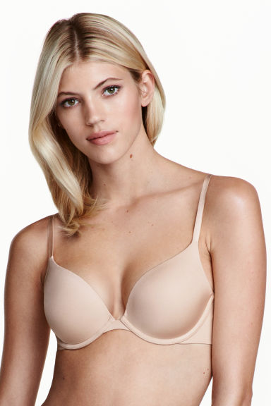 Microfibre push-up bra - Chai - Ladies | H&M 1