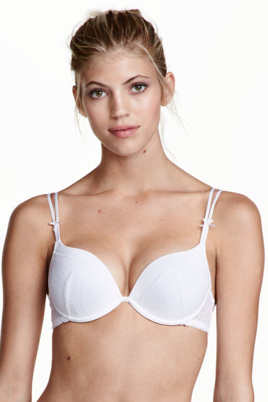 Super push-up in microfibra - Bianco - DONNA | H&M IT 1