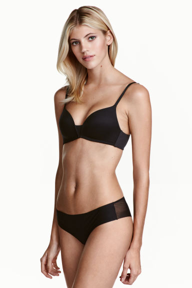 Mesh hipster briefs - Black - Ladies | H&M 1