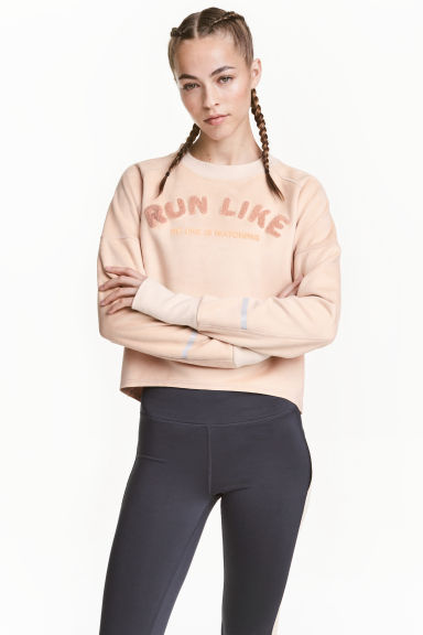 Sweatshirt - Powder - Ladies | H&M 1
