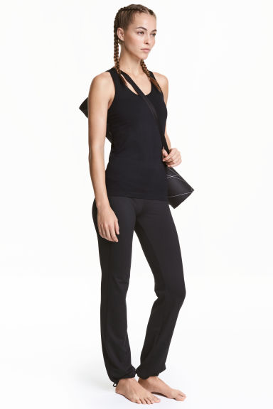 Yoga trousers - Black - Ladies | H&M 1