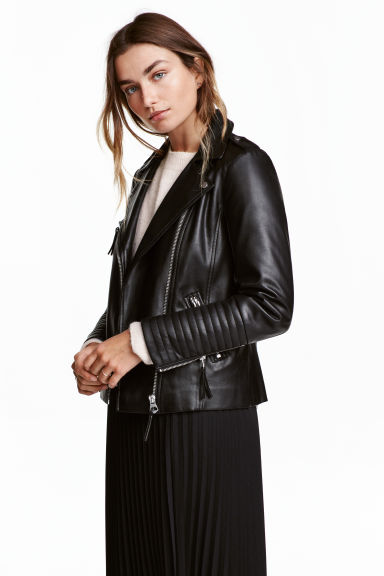 Giubbotto da biker - Nero - DONNA | H&M IT 1