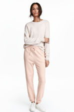 Joggers - Powder pink - Ladies | H&M CN 1