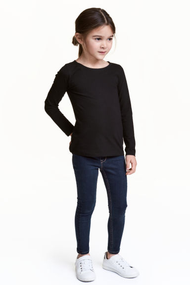 Legging en denim Superstretch - Bleu denim foncé - ENFANT | H&M FR 1