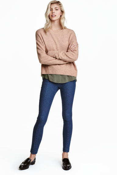 Treggings super-elasticizzati - Blu denim scuro - DONNA | H&M IT