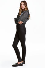 Pantaloni super stretch - Nearly black - DONNA | H&M IT 1