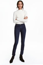 Superstretch trousers - Dark denim blue - Ladies | H&M CN 2