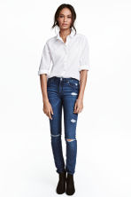 Skinny Regular Jeans - Blu denim scuro - DONNA | H&M IT 2