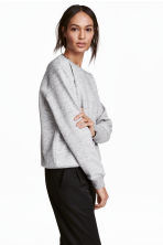 運動衫 - Light grey marl - Ladies | H&M 1