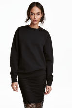 Sweatshirt - Black - Ladies | H&M CA 2