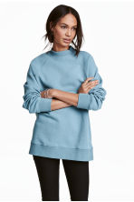 Sweatshirt with raglan sleeves - Turquoise - Ladies | H&M CN 1
