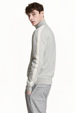 Cotton cardigan - Grey marl - Men | H&M 1