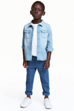 Twill trousers Regular fit - Blue - Kids | H&M 1