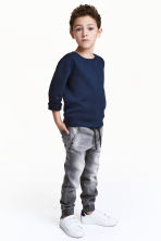 Joggers in denim - Grigio washed out - BAMBINO | H&M IT 1