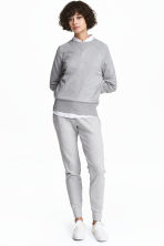 Joggers - Light grey marl - Ladies | H&M 2