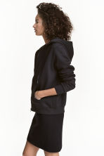 Hooded jacket - Black - Ladies | H&M GB 1