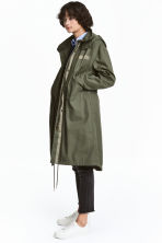 Parka with a detachable lining - Khaki green - Ladies | H&M CA 1