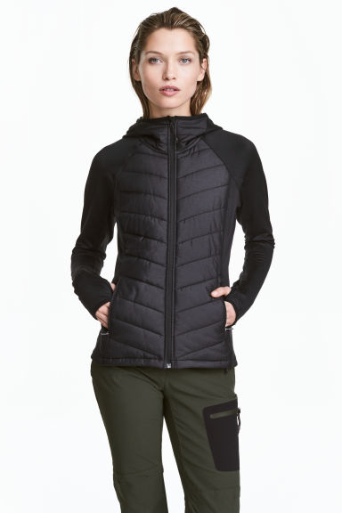 Outdoorjacka - Svart - Ladies | H&M FI 1