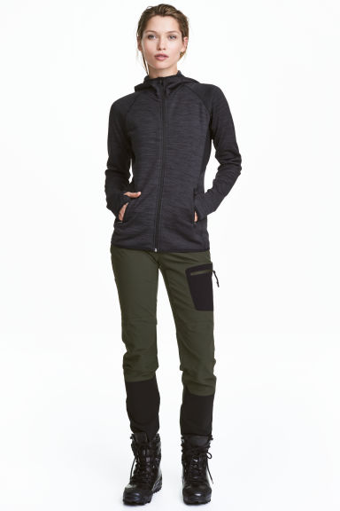 Outdoor trousers - Dark Khaki - Ladies | H&M 1