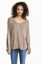 Knitted jumper - Mole - Ladies | H&M CN 1