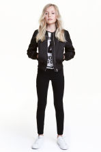 Treggings - Black - Kids | H&M CN 1