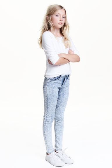 Skinny Fit Jeans - Blu denim sbiadito - BAMBINO | H&M IT 1