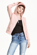 Hooded jacket - Light apricot - Ladies | H&M CN 1