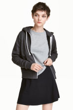 Hooded jacket - Dark grey marl - Ladies | H&M 2