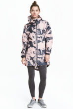 戶外運動軍外套 - Dark grey/Floral - Ladies | H&M 1