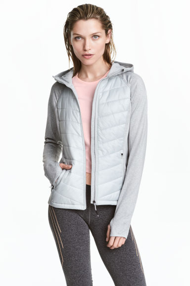 Outdoor jacket - Light grey - Ladies | H&M CN 1