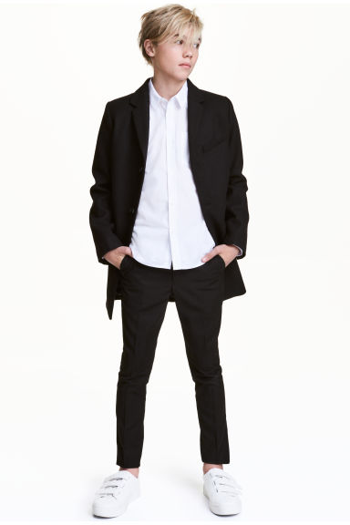 Suit trousers - Black - Kids | H&M CN 1