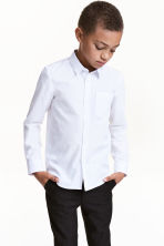 Easy-iron shirt  - White -  | H&M CN 1