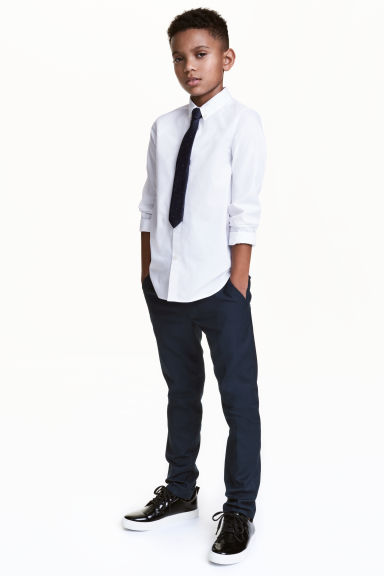 Suit trousers - Dark blue - Kids | H&M 1
