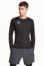Knee-length running shorts - Dark grey - Men | H&M CN 1