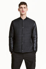 Quilted jacket - Black - Men | H&M 1
