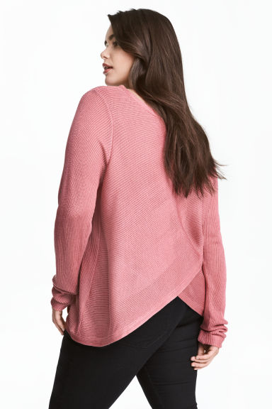 H&M+ Boat-neck jumper - Pink - Ladies | H&M 1