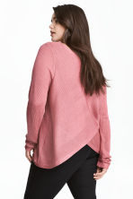 Boat-neck jumper - Pink - Ladies | H&M CN 1