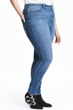 H&M+ Skinny High Jeans - Denim blue - Ladies | H&M CA 1