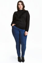 H&M+ Pantaloni elasticizzati - Blu denim scuro/Raw - DONNA | H&M IT 1