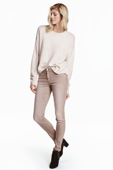 Superstretch trousers - Powder - Ladies | H&M 1