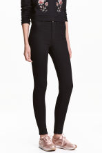 Super Skinny High Jeans - Black - Ladies | H&M GB 1