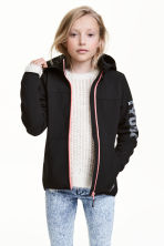 Softshell jacket - Black -  | H&M 1