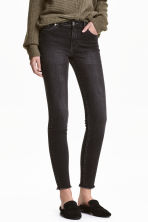 Slim Regular Ankle Jeans - Dark grey denim -  | H&M CA 1