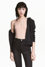 Basic top - Beige -  | H&M CN 2