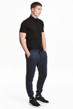 Sports trousers - Dark blue - Men | H&M 1