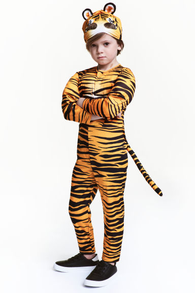 Tiger costume - Black/Orange - Kids | H&M CA 1