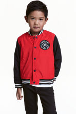 Baseball jacket - Red - Kids | H&M CN 1