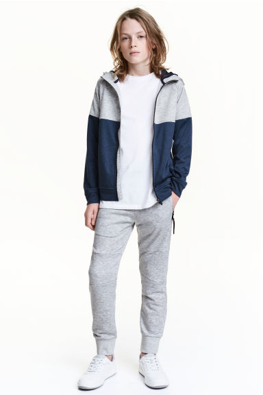 Joggers - Grey marl - Kids | H&M 1