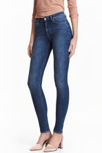 Shaping Skinny Regular Jeans - Dark denim blue - Ladies | H&M CN 1